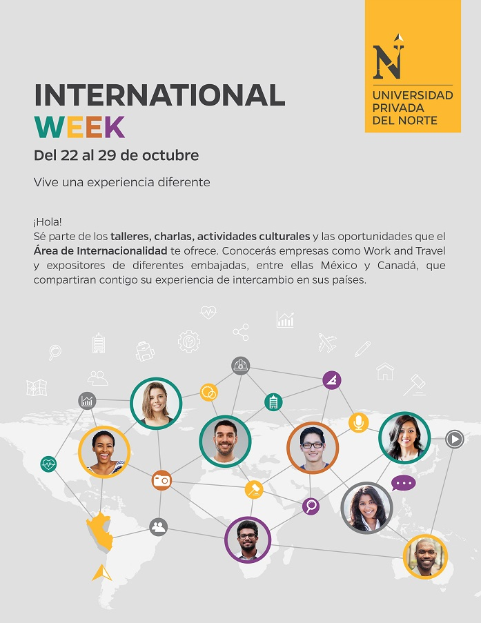 Amplía tus horizontes con International Week UPN